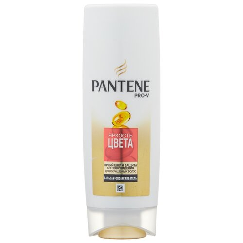 Pantene бальзам-ополаскиватель Яркость цвета для окрашенных волос, 200 мл wella бальзам ополаскиватель colour для окрашенных волос 500 мл