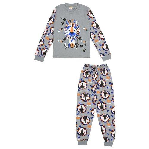 Купить Пижама MisterBanana размер 128-134, серый, Домашняя одежда
