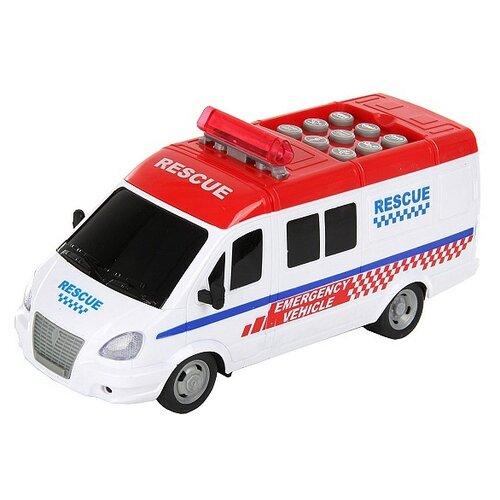 Микроавтобус Veld Co Умный Я Скорая помощь (71026) 26 см белый цена 2017