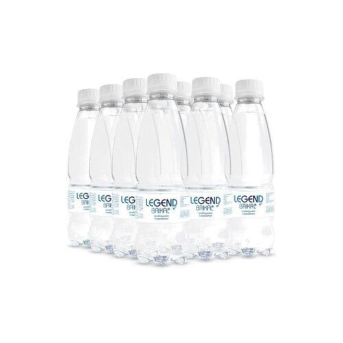 Вода питьевая Legend of Baikal глубинная газированная, пластик, 12 шт. по 0.33 л недорого