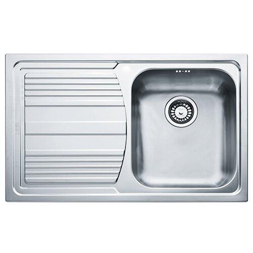 Врезная кухонная мойка 79 см FRANKE LLL 611 R 101.0086.233 нержавеющая сталь/декор мойка franke pkx 110 34 нержавеющая сталь