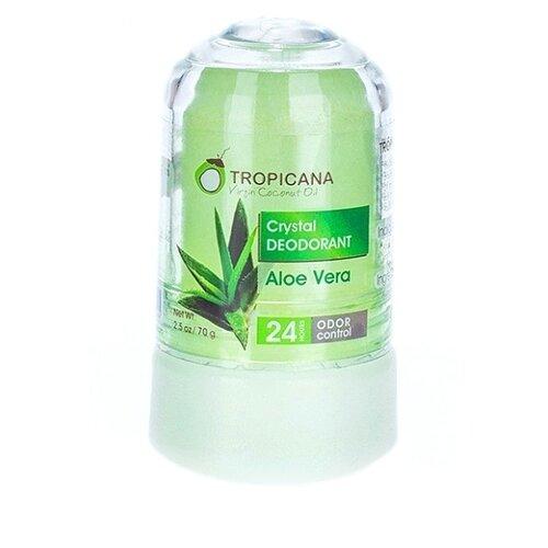 Tropicana дезодорант, кристалл (минерал), Aloe Verа, 70 г