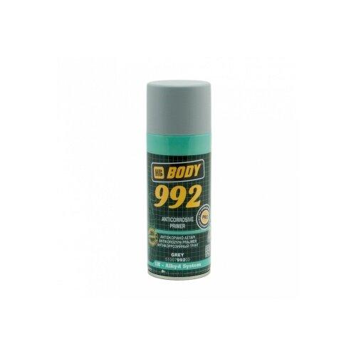 Грунт-праймер HB BODY 992 серый 0.4 л аэрозольный грунт праймер hb body p961 аэрозоль серый 0 4 л