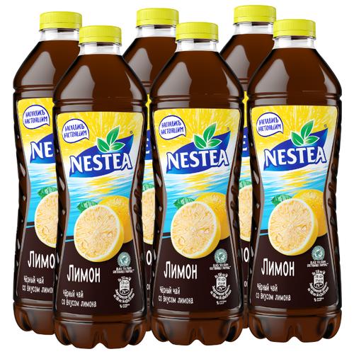 Чай Nestea черный со вкусом Лимона, 1.5 л, 6 шт.