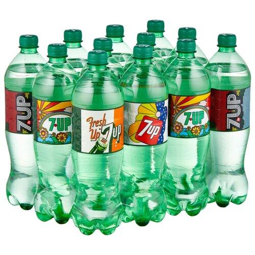 Газированный напиток 7UP Лимон-Лайм, 1 л, 12 шт. напиток газированный 7 up лайм и мята 1 5 л