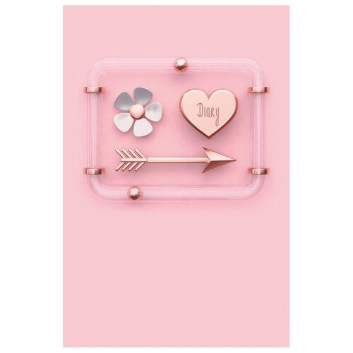 Ежедневник Listoff Любимые нюансы недатированный, А5, 152 листов, розовый фото