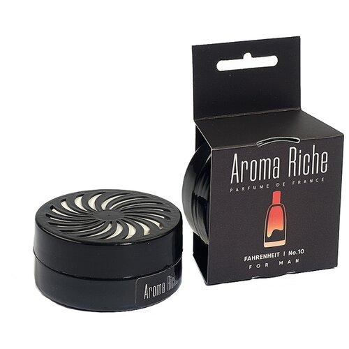 Автолидер Ароматизатор для автомобиля, Aroma Riche мужской, Fahrenheit №10 50 г