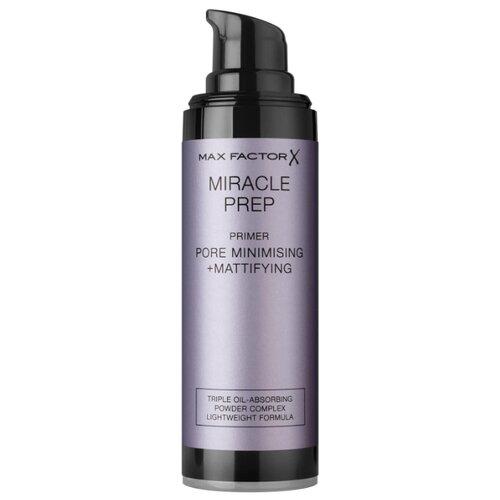 Max Factor Праймер Miracle Prep Pore Minimising + Mattifying 30 мл белый max factor miracle prep pore minimising mattifying primer