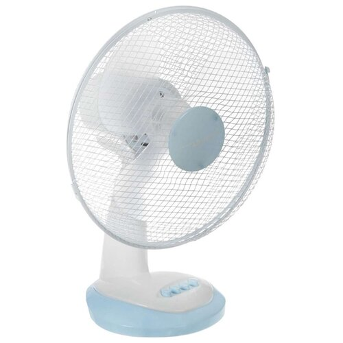 Настольный вентилятор FIRST AUSTRIA 5551 белый / голубой