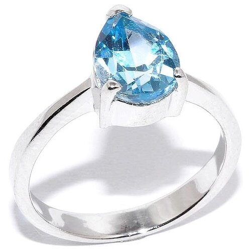 Silver WINGS Кольцо с топазами из серебра 210010-32-156, размер 17.5 silver wings кольцо с топазами из серебра 210047 32 54 размер 17