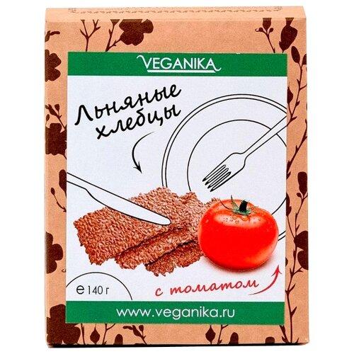 Хлебцы льняные VEGANIKA С томатом 140 г