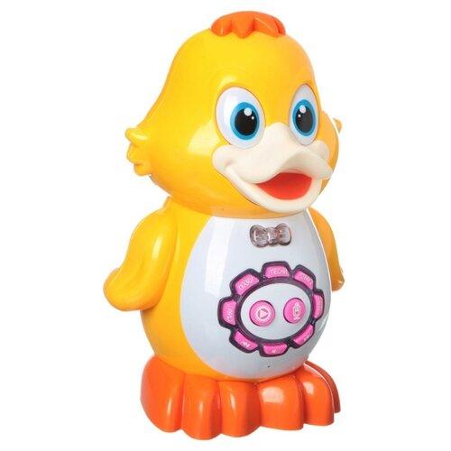 Купить Развивающая игрушка Play Smart Умный утёнок желтый/оранжевый, Развивающие игрушки