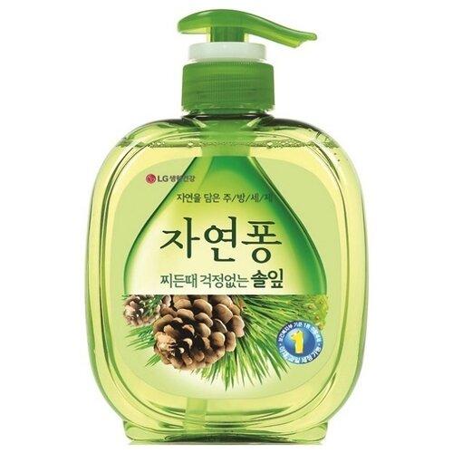 LG H&H Natural Pong Жидкое средство для мытья посуды Forest 0.5 л трикотаж h