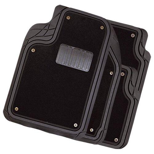 Комплект ковриков AUTOPROFI MAT-420 4 шт. черный