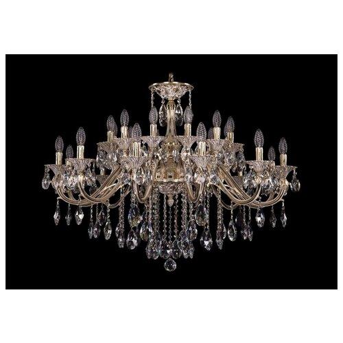Люстра Bohemia Ivele Crystal 1703 1703/24/360/B/GW, E14, 960 Вт бра bohemia ivele crystal 1610 1610 3 gw