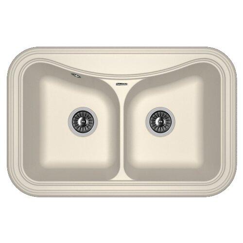 Врезная кухонная мойка 78 см FLORENTINA Крит-780A FS 20.175.E0780.201 жасмин кухонная мойка florentina гребешок 695 жасмин fs 20 345 e0695 201