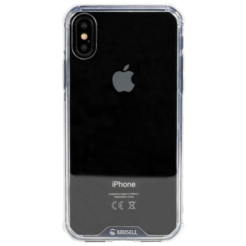 Купить Чехол Krusell Kivik Pro Cover для Apple iPhone X/Xs прозрачный