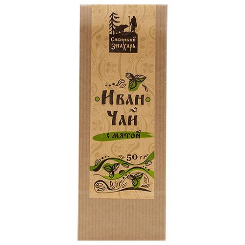 Чайный напиток травяной Сибирский знахарь Иван-чай с мятой, 50 г чай листовой мама карелия иван чай карельский с мятой перечной 50 г
