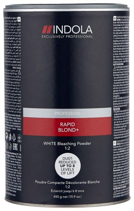 Indola Rapid Blond White Порошок обесцвечивающий белый