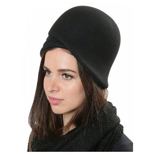 Щелково-фетр 132-56 Шляпа женская мод.132 цвет черный р 56
