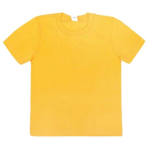 Футболка Optop размер 134, желтый комплект одежды optop размер 134 бледно желтый круги на сахаре