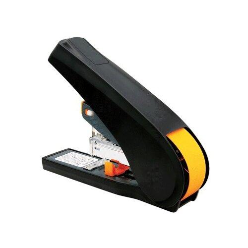 BRAUBERG степлер Leistung (224350) черный/оранжевыйСтеплеры, скобы, антистеплеры<br>