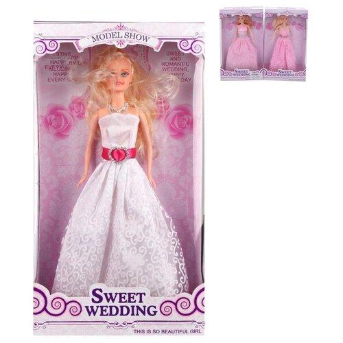 Купить Кукла Невеста в розовом 29 см, Наша Игрушка H125E, Наша игрушка, Куклы и пупсы