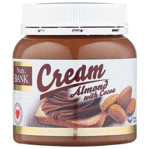 Nuts BANK Крем ореховый миндальный с какао 250 г