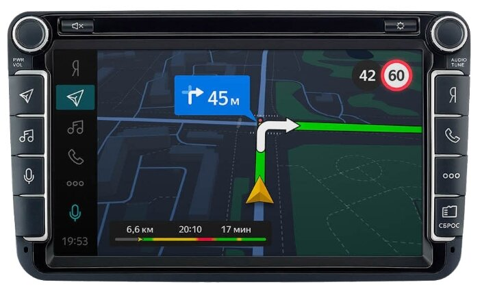 Бортовой компьютер Яндекс.Авто для Volkswagen Polo (с 2014 года)