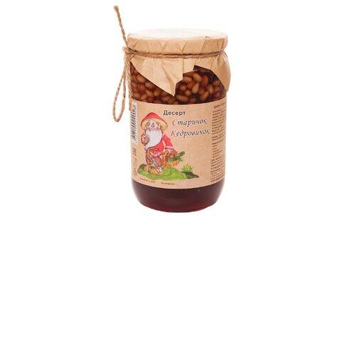 Кедровые орехи в сосновом сиропе Старичок Кедровичок Самсонов и партнеры, банка 430 г колодки для обуви avel кедровые 40 41 кедр