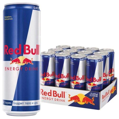 Энергетический напиток Red Bull, 0.473 л, 12 шт.