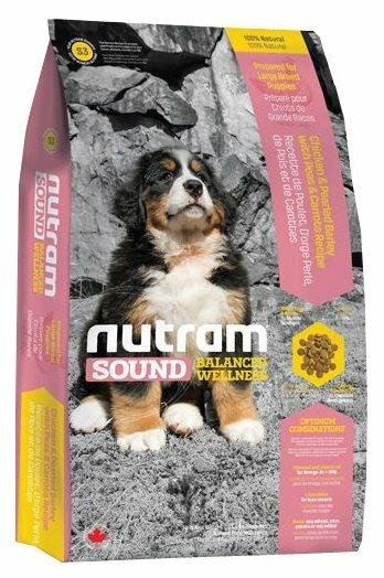 Корм для собак Nutram S3 Для щенков крупных пород (20 кг)