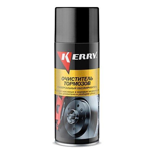 цена на Очиститель KERRY KR-965 универсальный обезжириватель для тормозной системы 0.52 л баллончик