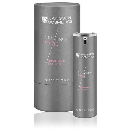 Купить Janssen Cosmetics Platinum care Effect serum реструктурирующая сыворотка для лица с коллоидной платиной, 30 мл