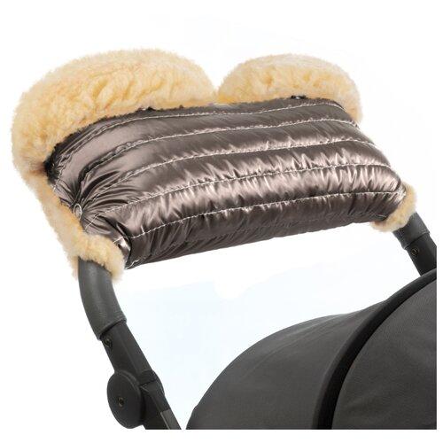 Купить Муфта для рук на коляску Esspero Diaz Lux (Натуральная шерсть), Аксессуары для колясок и автокресел