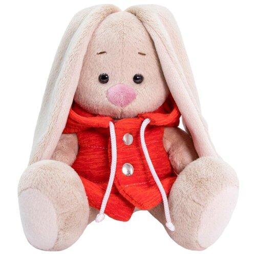 Мягкая игрушка Зайка Ми в жилетке с капюшоном 15 см фото