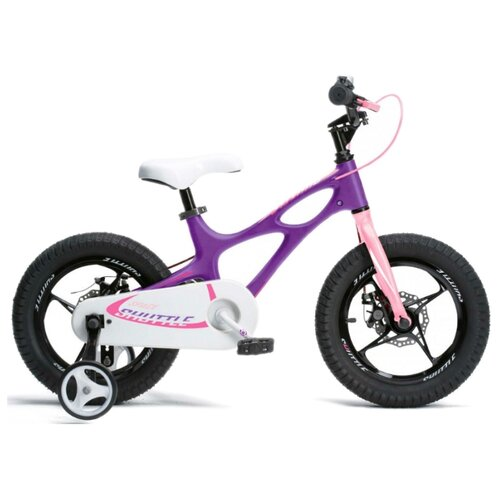 Детский велосипед Royal Baby RB16-22 Space Shuttle 16 фиолетовый (требует финальной сборки)