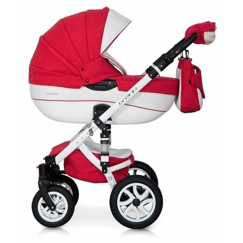 Универсальная коляска Riko Brano Ecco (3 в 1) 20 sport red