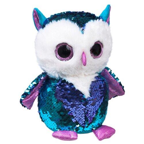 Мягкая игрушка Fancy Совенок Топаз 15 см мягкая игрушка fancy лисенок опал 15 см
