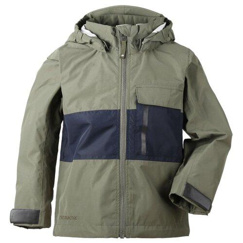 Куртка Didriksons Igelkotten 502410 размер 110, 202 тёмно-оливковый парка didriksons marcel