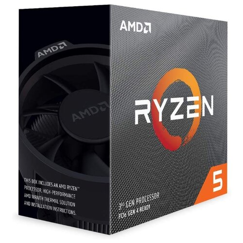 Процессор AMD Ryzen 5 3600 BOX процессор amd ryzen 5 1400 socketam4 box [yd1400bbaebox]
