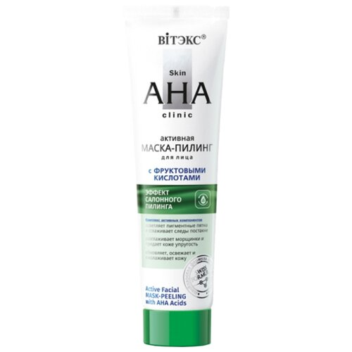 Витэкс маска-пилинг для лица Skin AHA Clinic Активная с фруктовыми кислотами 100 мл