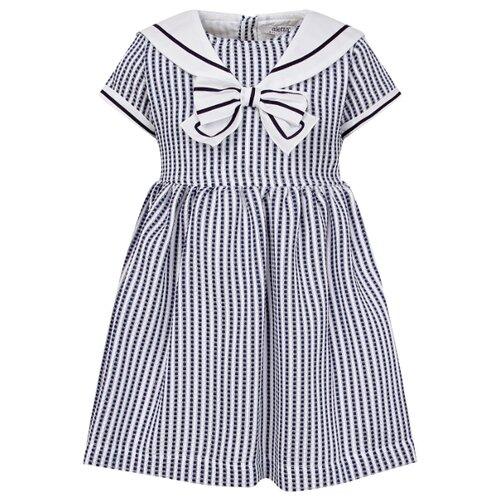 Платье Aletta размер 80, полоска/белый/синий