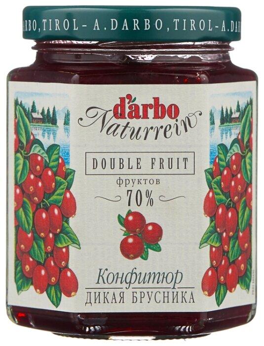 Конфитюр DARBO Дикая брусника (70% фруктов), стекло 200 г
