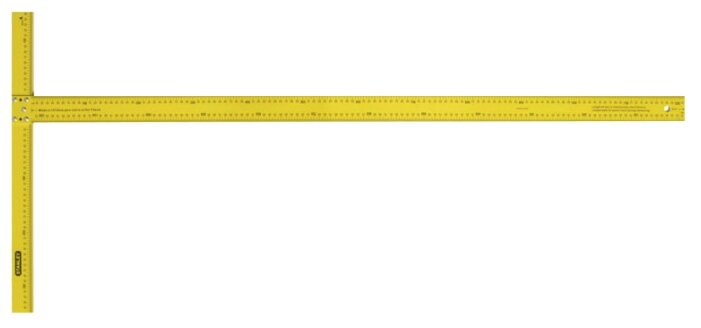 Строительный угольник STANLEY 1-05-894 122x550 мм