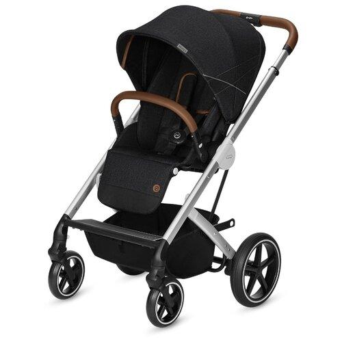 Прогулочная коляска Cybex Balios S (с дождевиком) Lavastone black коляска прогулочная cybex balios s denim denim blue с дождевиком
