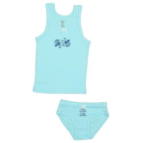 Комплект нижнего белья RuZ Kids размер 116-122, арктический голубой, Белье и купальники  - купить со скидкой