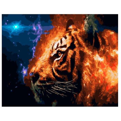 Купить ВанГогВоМне Картина по номерам Фэнтези с тигром , 40х50 (ZX 20954), Картины по номерам и контурам