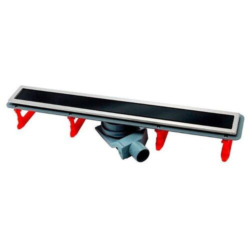 Лоток для душа PESTAN Confluo Premium Black Glass Line 750 13000294