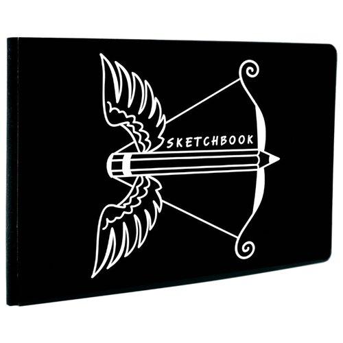 Скетчбук Канц-Эксмо Paper Art Black&White. Дизайн 5, 18 х 13 см, 120г/м, 60 л., Альбомы для рисования  - купить со скидкой